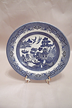 Churchill China Willow Pattern Collector Plate