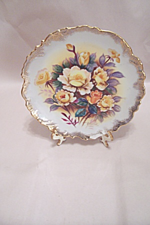 Occupied Japan Handpainted Collector Plate (Image1)