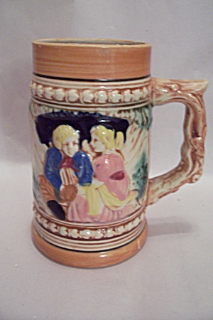 German Porcelain Beer Stein
