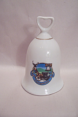 Pennsylvania Souvenir Porcelain Collector Bell