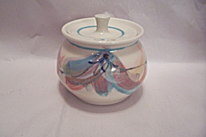 Honey Pot With Lid Handmade By American Potter