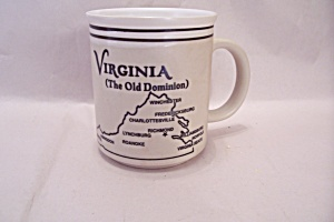 Virginia Souvenir Porcelain Mug (Image1)