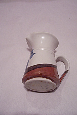 Handmade Art Pottery Pitcher