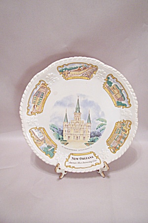 New Orleans Souvenir Collector Plate (Image1)