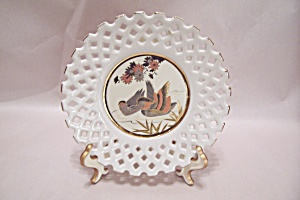 Cochin Lacework Duck Collector Plate
