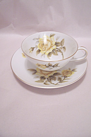 Harmony House Yellow Rose Cup & Saucer