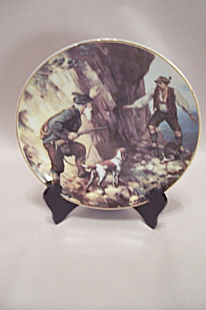 German Hunting Scene Collector Plate