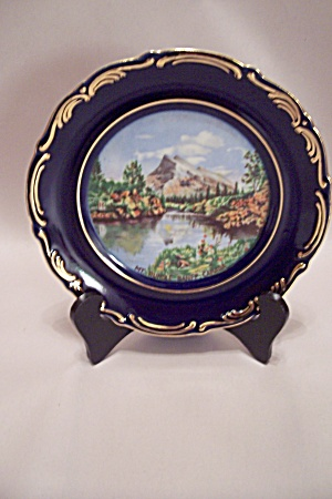 Mt. Rundle, Banff, Canada Souvenir Collector Plate (Image1)