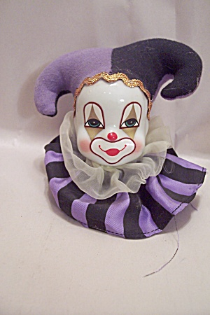 Porcelain Clown Head
