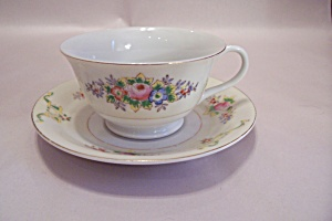 Jap869 Pattern Pre-ww-ii China Cup & Saucer Set