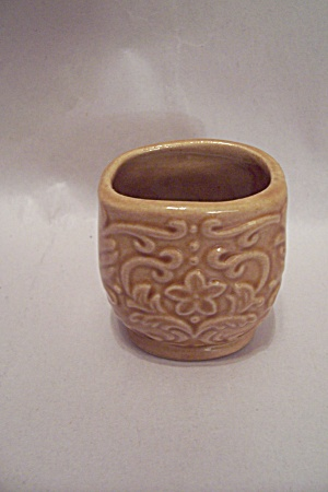 Light Brown Porcelain Toothpick Holder (Image1)