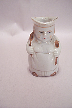 Occupied Japan Toby Porcelain Toothpick Holder (Image1)
