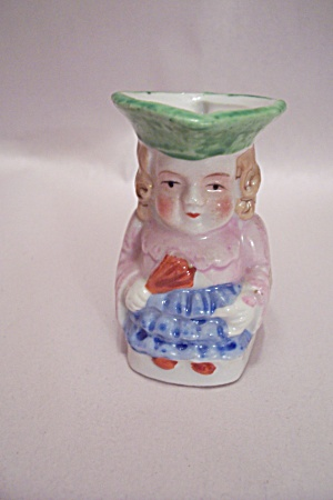 Occupied Japan Handpainted Toby Toothpick Holder (Image1)