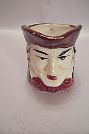 Occupied Japan Porcelain Toby Pitcher (Image1)
