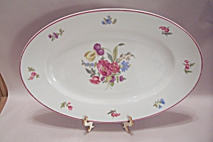 Olivia Pattern Large China Platter