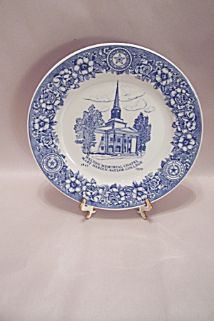 Mary Hardin-baylor College Collector Plate