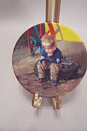 The Thinker Collector Plate