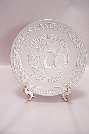 Frankoma Easter 1972 Collector Plate