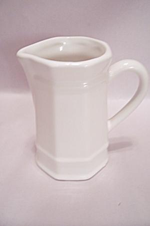 Pfaltzgraff White Creamer (Image1)