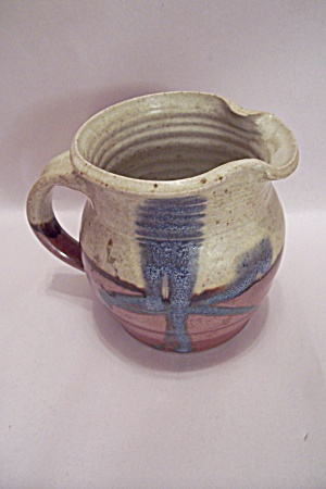 Handthrown Art Pottery Pitcher (Image1)