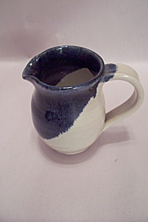 Handthrown Art Pottery Cream Pitcher/Creamer (Image1)