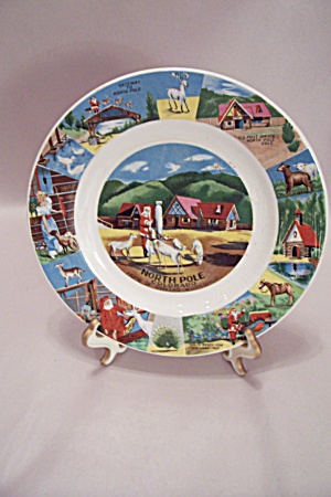 North Pole, Colorado Souvenir Collector Plate (Image1)