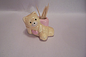 Porcelain Bear Toothpick Holder (Image1)