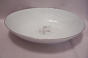 Creative Royal Elegance Fine China Oval Bowl (Image1)