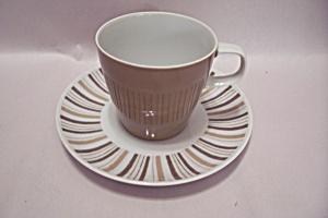 Mikasa Elite Narumi Fine China Tan Cup & Saucer (Image1)