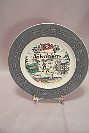 Arkansas Souvenir Collector Plate (Image1)