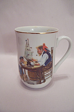Norman Rockwell For A Good Boy Teacup (Image1)