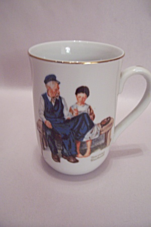 Norman Rockwell The Lighthouse Keeper's Daughter Teacup (Image1)