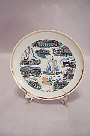 Louisiana Souvenir Collector Plate (Image1)