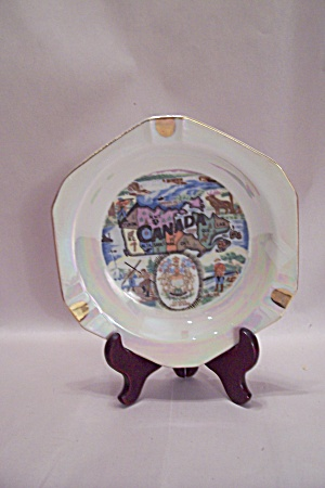 Canadian Souvenir Hand Painted  Ash Tray (Image1)