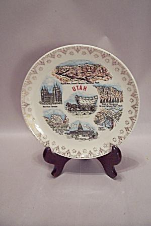 Utah Souvenir Collector Plate (Image1)