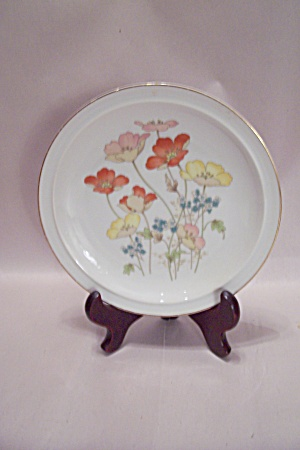 Handpainted Poppy Collector Plate (Image1)