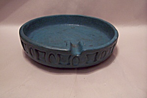 Rosenthal-Netter Greenish-Blue Pottery Ash Tray (Image1)