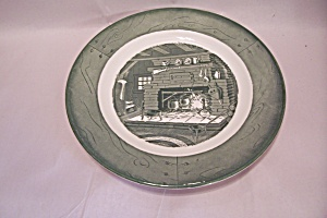 Royal Colonial Homestead Collector Plate