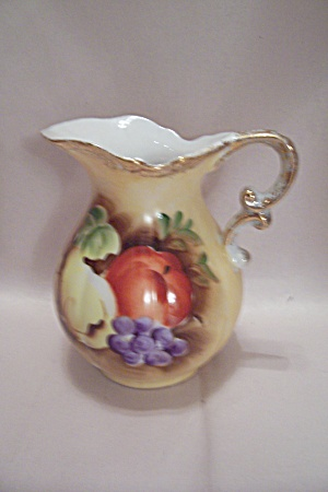 Handpainted Porcelain Pitcher (Image1)