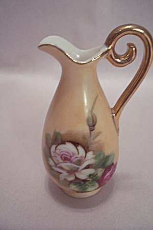 Lefton's Porcelain Miniature Pitcher Toothpick Holder (Image1)