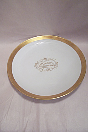 Golden Anniversary Wedding Commemorative Plate & Bavaria - Antique China Antique Dinnerware Vintage China ...
