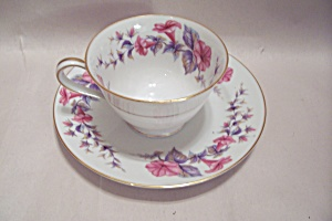 Noritake China Verona Pattern Cup & Saucer Set