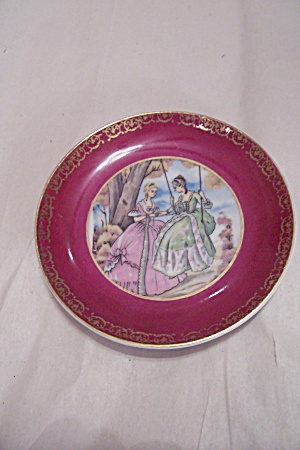 Miniature Early American Motif Collector Plate
