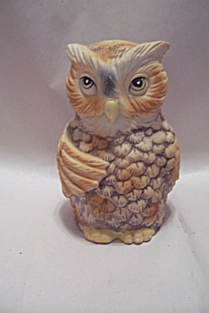 Owl Collectible Porcelain Bell