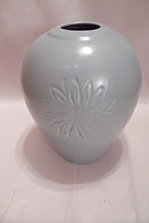 Haeger Light Green Pottery Vase (Image1)