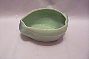Horton Green Oblong Pottery Bowl/cache Pot