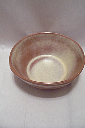 Frankoma Desert Gold Pottery Bowl
