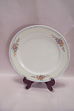 Occupied Japan Floral Pattern China Dinner Plate