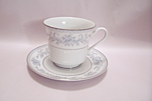 Mikasa Dresden Rose Pattern Fine China Cup & Saucer Set