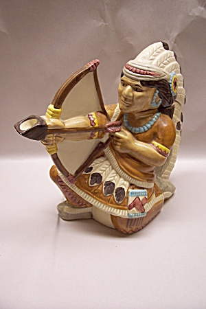 Indian Chief Porcelain teapot (Image1)